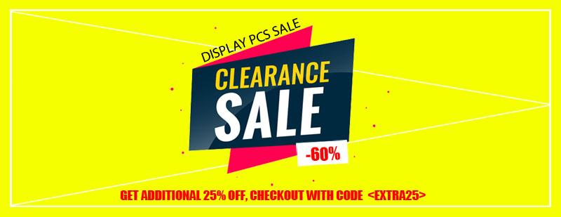 Display Pcs Sale