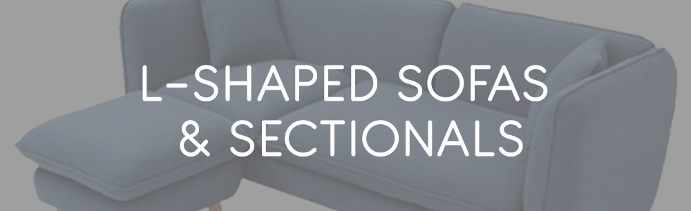 L-Shaped Sofas & Sectional