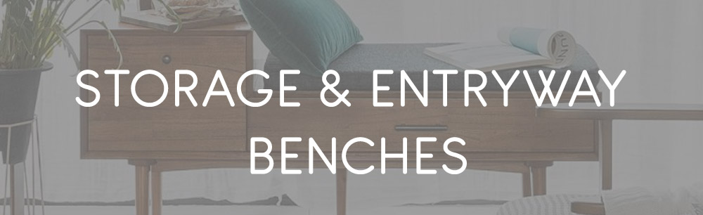 Storage & Entryway Benches