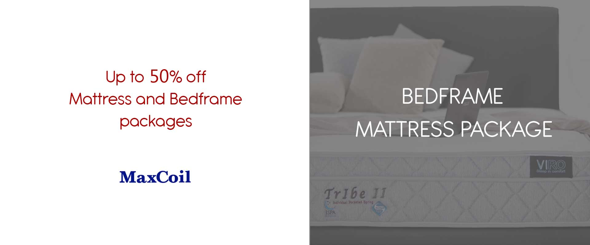 Bed Frame & Mattress Package