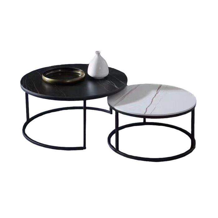 DIX Ceramic Nest Coffee Table Set
