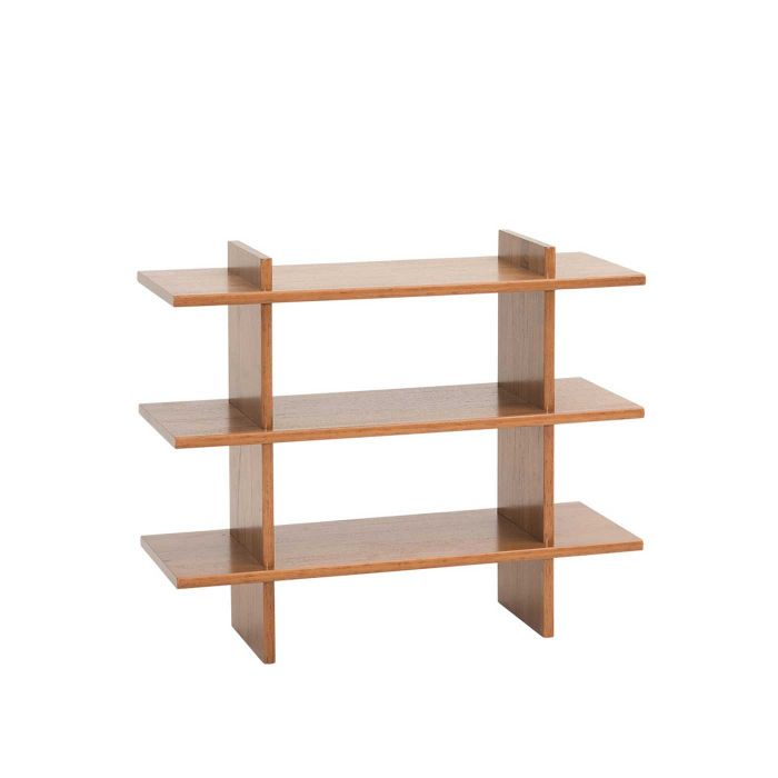Fika Swedish Minimalist Bookshelf