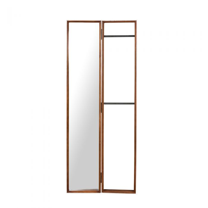 Fika Swedish Clothes Rack Standing Mirror