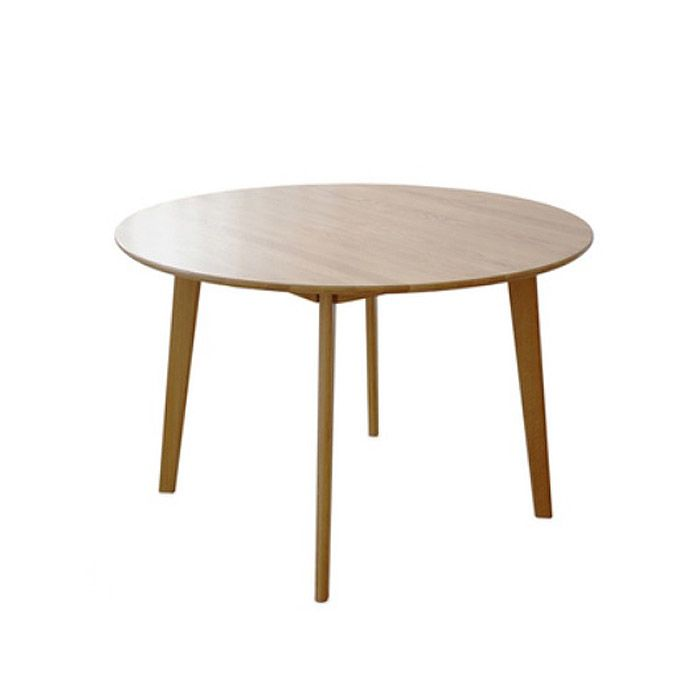 Guri Scandinavian Solid Wood Round Dining Table
