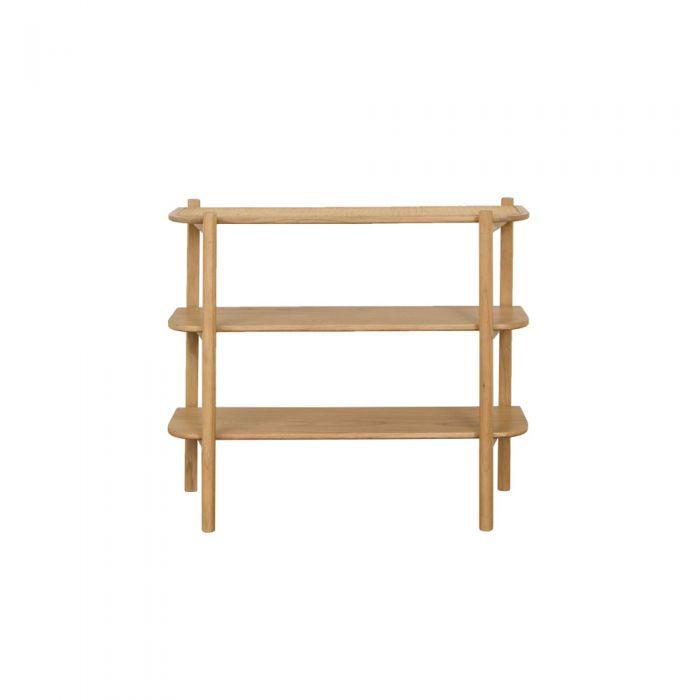 May Rattan Bohemian 3-tier Shelf