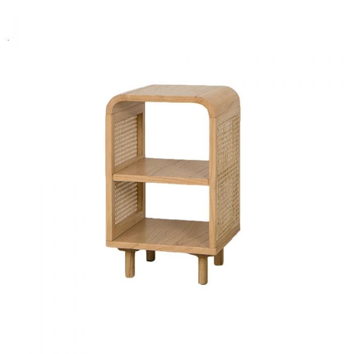 May Rattan Bohemian Drawer Bedside Table
