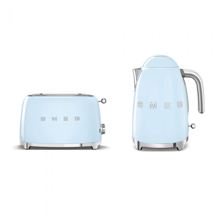 SMEG Breakfast Set (Kettle + Toaster)