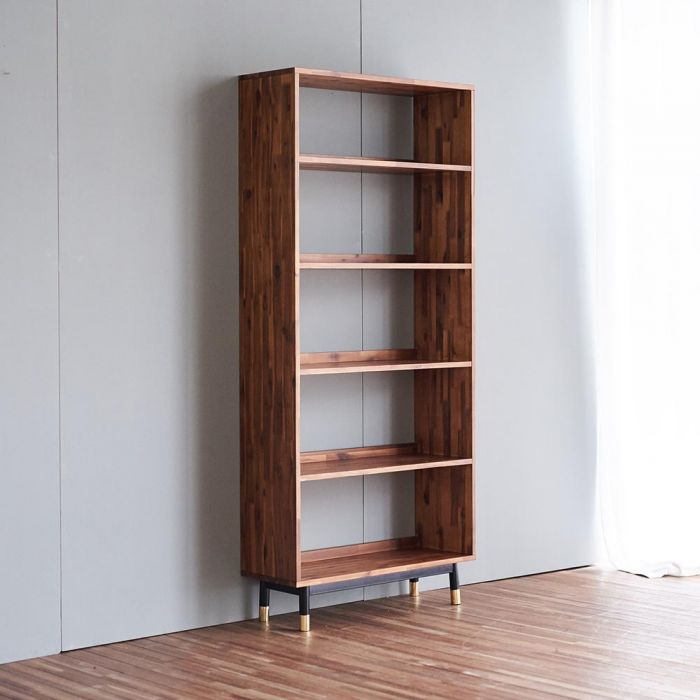 Dwell Acacia Bookcase Display Shelf