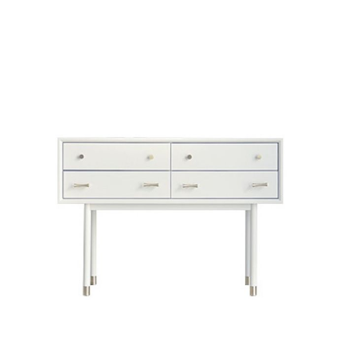 Woody White Contemporary Dressing Table (Clearance)