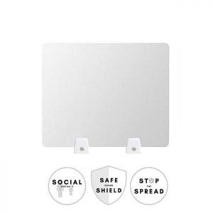 Safe Distancing Sneeze Guard Acrylic Table Shield (Clip Mount)