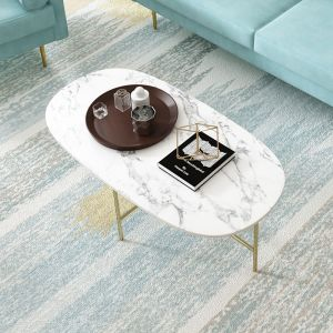 Bethany Marble Coffee Table
