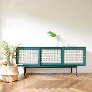 Bistro Rattan Sideboard (1600)