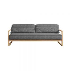 Brentwood Scandinavian Sofa (3 Seater Compact)