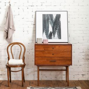 Fika Swedish 3 Drawer Console