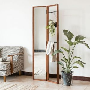 Fika Swedish Clothes Rack Standing Mirror