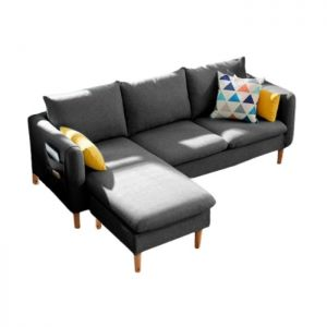Freya Interchangeable Facing L-Shape 3 Seater Regular Sofa