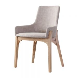 Danielle Scandinavian Fabric Dining Chair