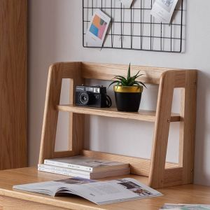 Guri Scandinavian Solid Wood Table Top Placement Shelf