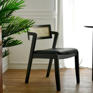 Latte Rattan Chair