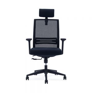 Liam Highback Executive Office Chair (Adjustable Head Rest)