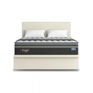 Maxcoil VIRO Sleepworkx 11.5' pocketed spring Mattress w/ Storage Bed