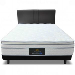 Maxcoil Orlando Crest  (Double topper) (Mattress Only)