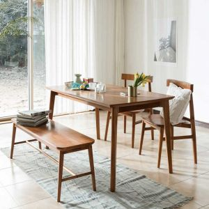 Fika Swedish Dining Set (2 Chairs & 1 Bench)