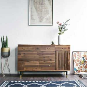 Dwell Acacia 3 Drawer Sideboard (1200)