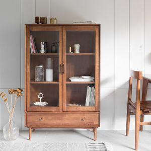 Fika Swedish Glass Cabinet Tall (L) Sideboard