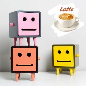 Macaron Ted 2 Latte Tissue Box