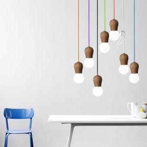 Timbre Scandinavian Wooden Pendant Lamp