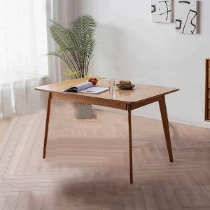 Guri Oak Scandinavian Extendable Dining Table (1300 - 1600)