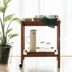 Fika Swedish Trolley Side Table