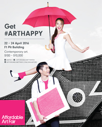 Affordable Art Fair Singapore Spring Edition April 2016