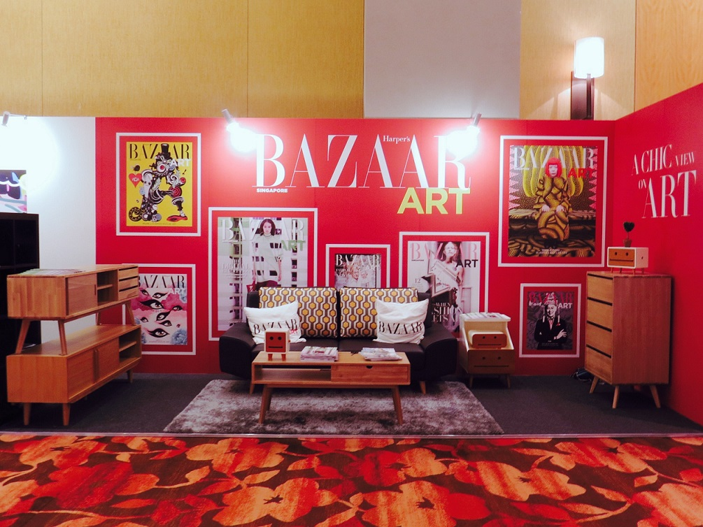 Art Stage Singapore Jan 2017 with Harper's BAZAAR