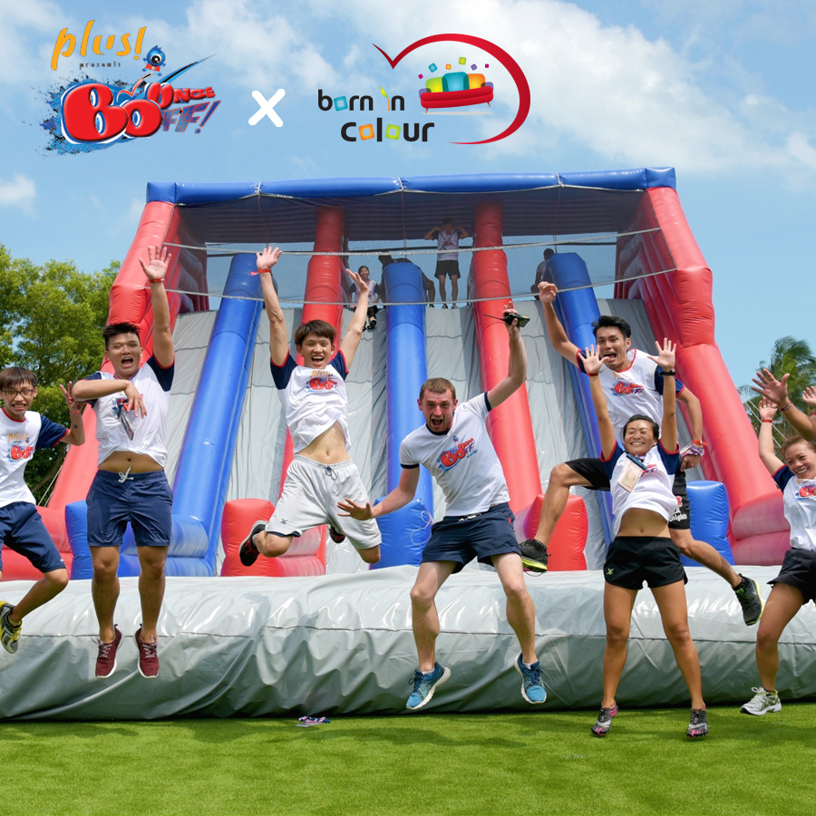 Proud Partner with NTUC Plus! for BounceOFF! Event April 2016