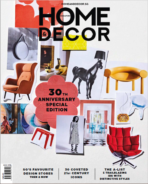 Home & Decor Singapore Magazine August 2018