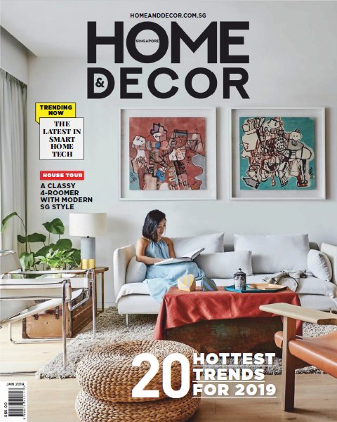 Home & Decor Singapore Magazine January 2019