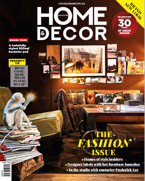 Home & Decor Singapore Magazine June 2018