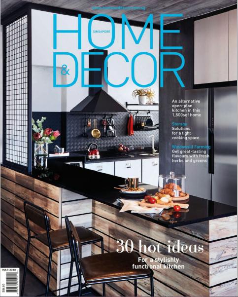 Home & Decor Singapore Magazine March 2018