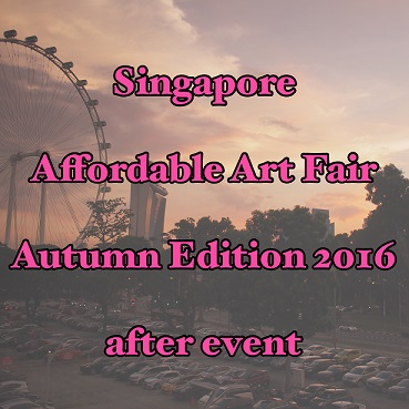 Affordable Art Fair Autumn 2016 (After Event)
