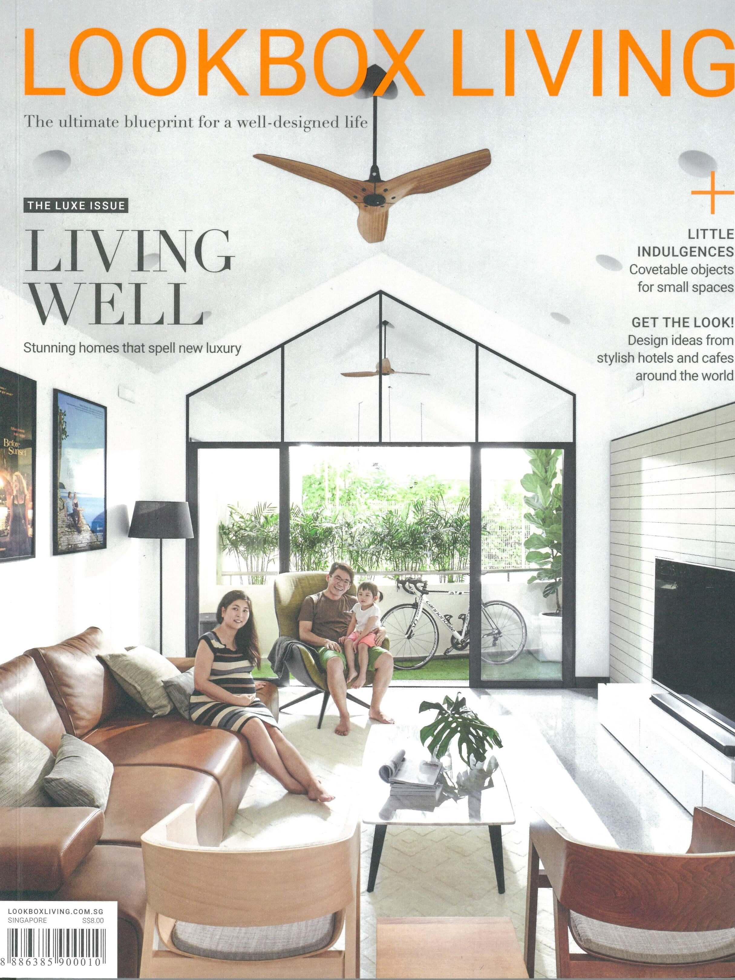 Dwell Acacia in Lookbox Living Magazine #20 September 2017