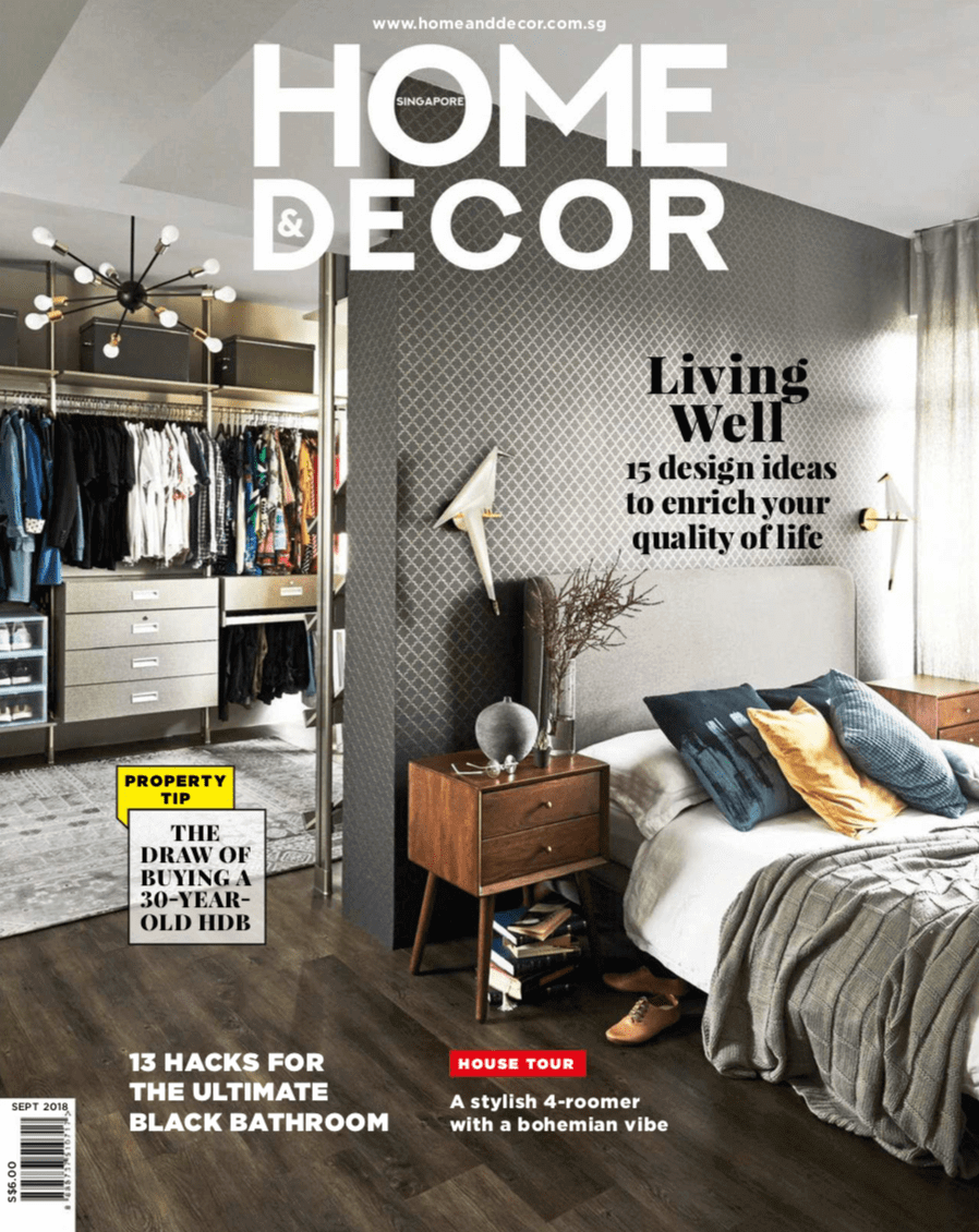 Tinwood collection featuring in Home and Decor Sept 2018