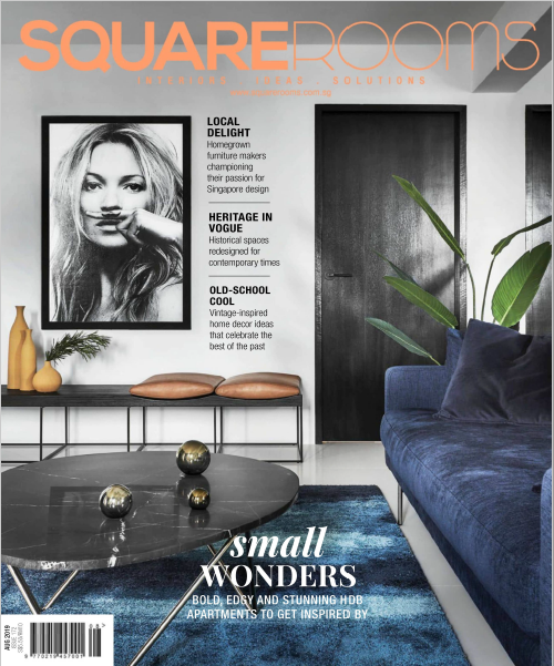 SquareRooms Singapore Magazine August 2019