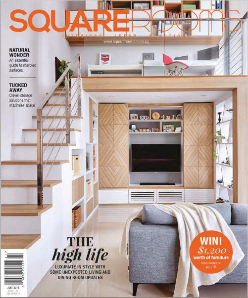 SquareRooms Singapore Magazine July 2018
