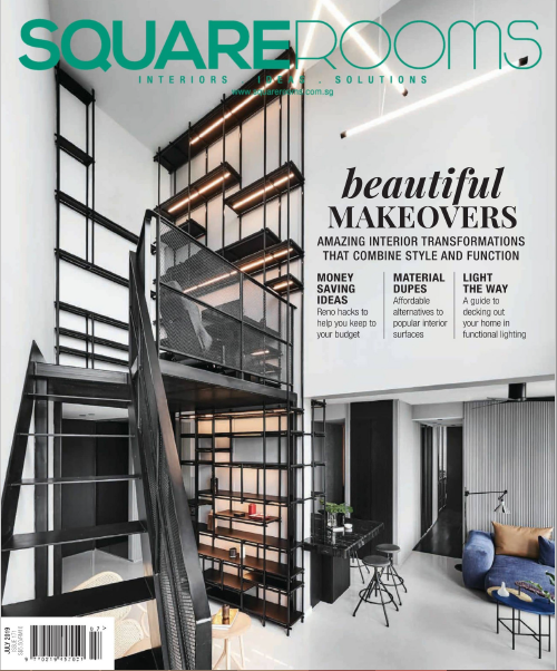 SquareRooms Singapore Magazine July 2019