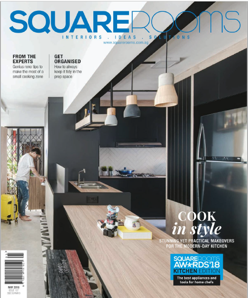 SquareRooms Singapore Magazine May 2018