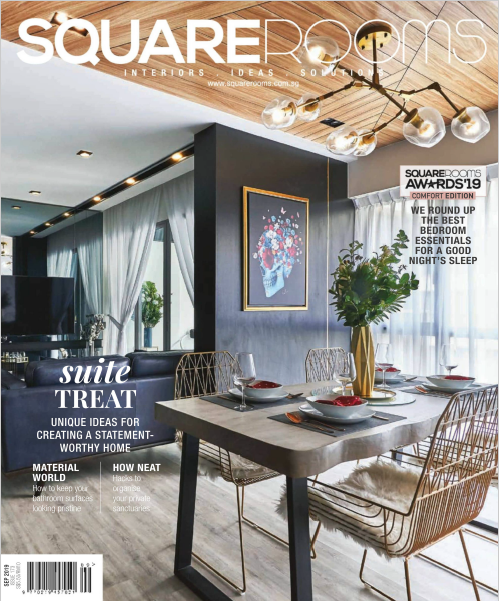 SquareRooms Singapore Magazine September 2019