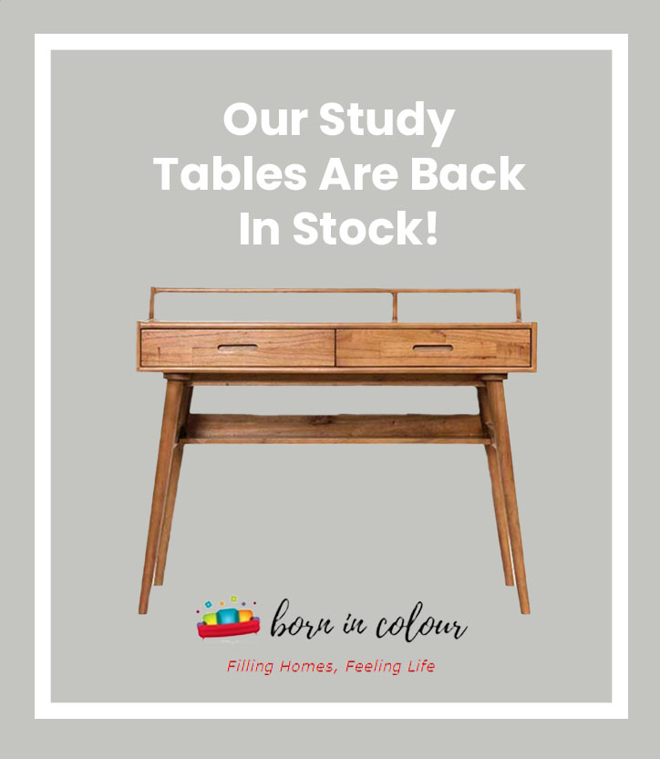 Our Study Tables Are Back In Singapore!