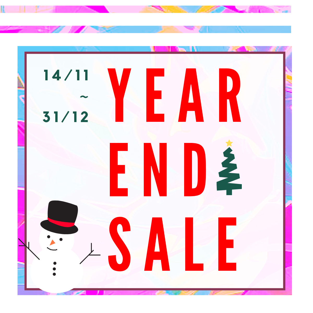 Annual Year End Sale Details
